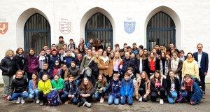 Vive l´amitié franco-allemande: Französische Schüler…