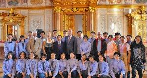 Schulpartnerschaft mit China|Gäste aus Jinan…