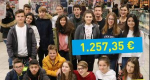 Über 1200 Euro!|Holbeiner sammeln im…