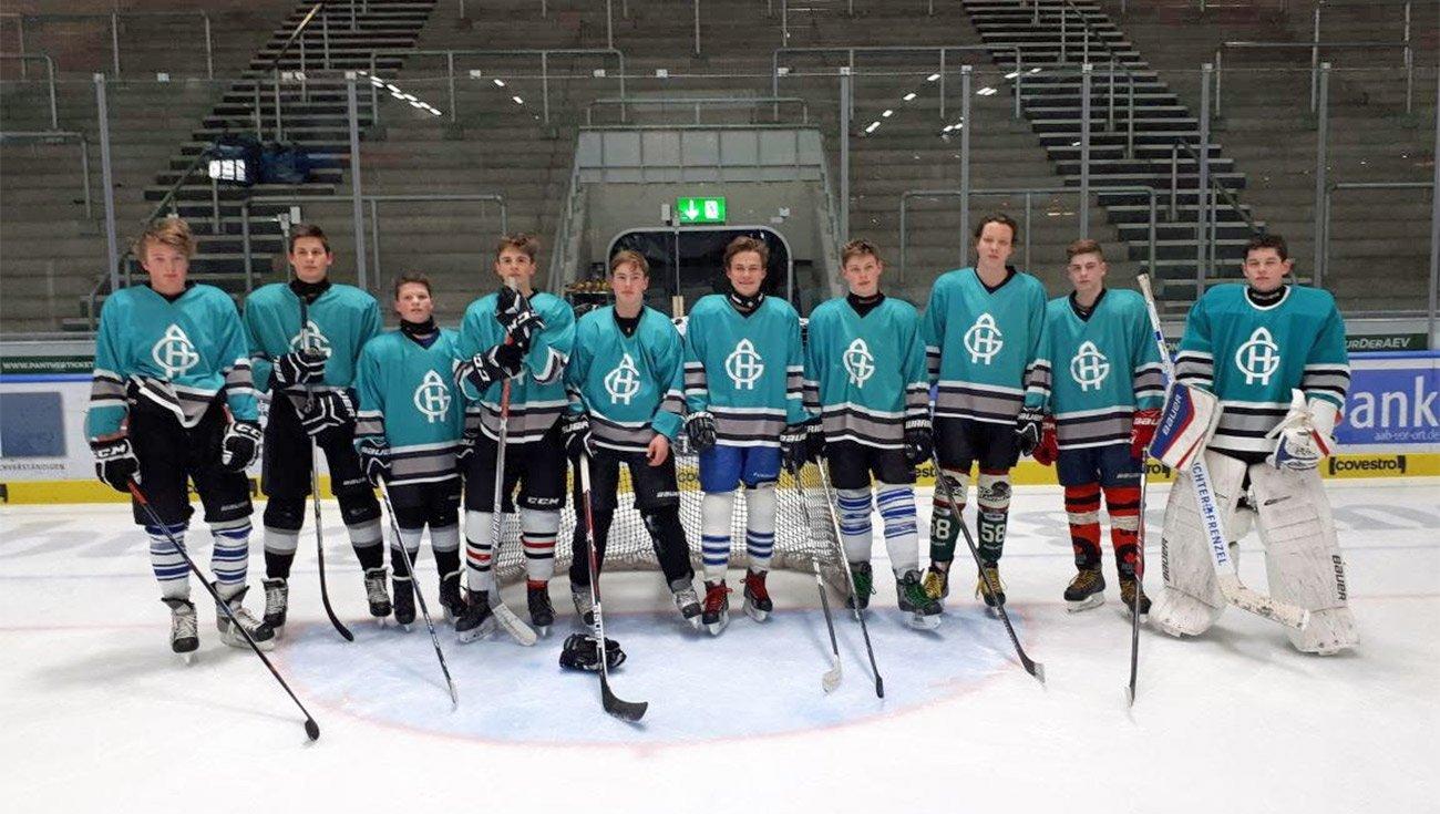 Eishockey am Holbein: Unsere Jungen 1