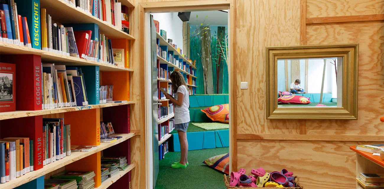 In Ruhe lesen oder einfach nur ausruhen: Unser Mediengarten
