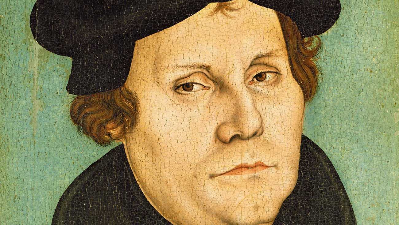 Martin Luther (aus der Werkstatt Lucas Cranachs des Älteren, 1529)